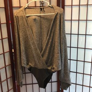 Out from under leotard women size S P